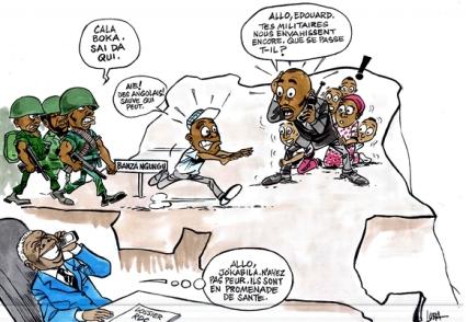 CARICATURE-RDC-ANGOLA