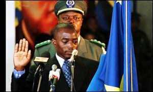 Kabila prete serment