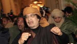 Mouammar El Kadhafi- Pdt Libyen